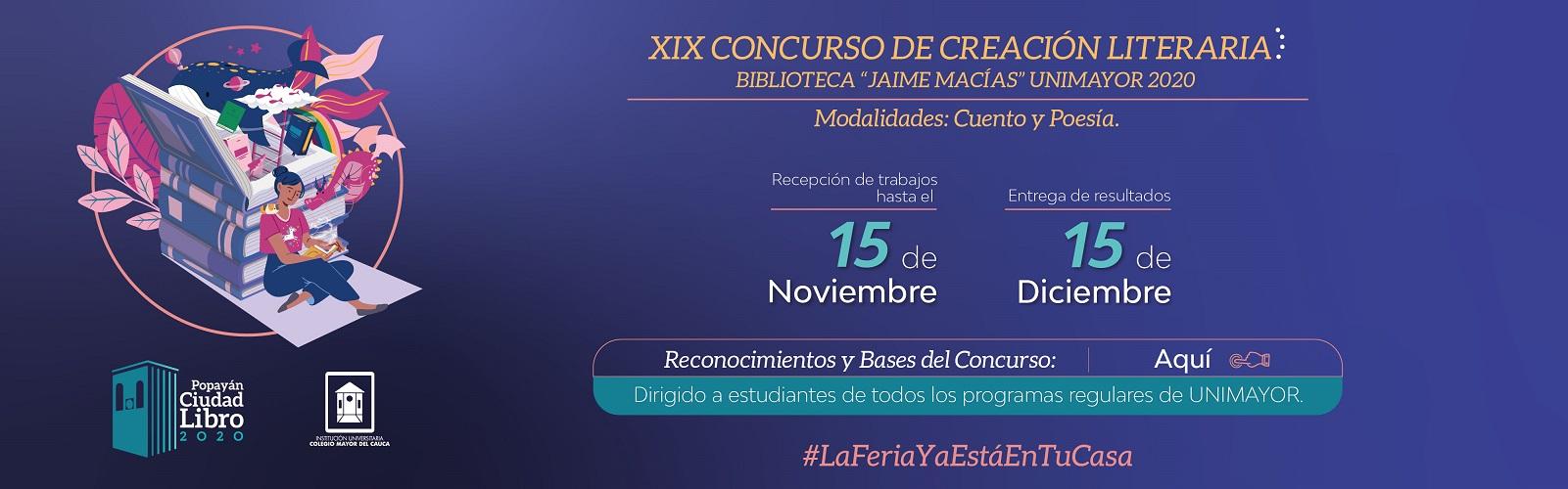 Bases_XIX_Concurso_Creación_Literaria_Biblioteca_Jaime_Macías_Banner